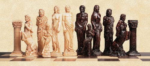 SAC Gods of Mythology Chess Set A125