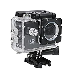 Go Pro 1080P Waterproof Digital With accessories with led screen(memory card ) sportc action camera ,underwater camera ,