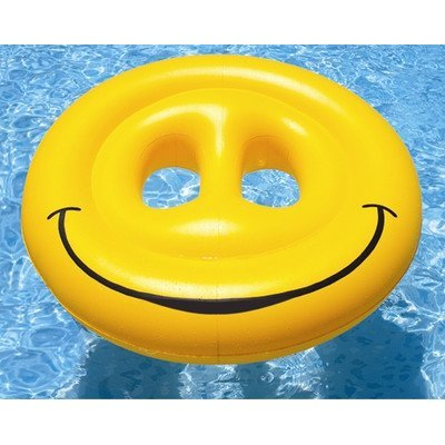 Smiley Face Island Pool Raft by Swimline