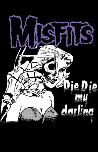 Misfits Darling Shower Curtain front-1075712