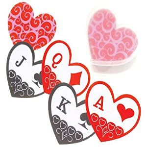 Heart Shape Playing Cards