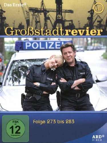 Großstadtrevier - Box 18/Folge 273-283 [4 DVDs]