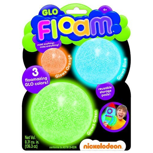 Nickelodeon Glo Floam Multi-Pack