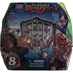 Mega Bloks 9452 Plasma Dragons Battle Realm Booster Pack