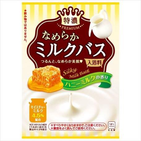 お湯物語 なめらかミルクバス ハニーMの香り50g