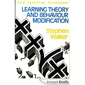 Learning theory and behaviour modification (English Edition)