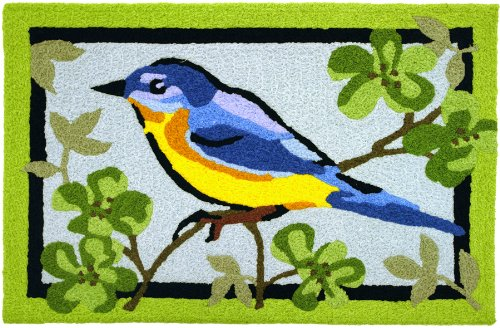 Jellybean Sweet Bluebird Of Spring Accent Area Rug