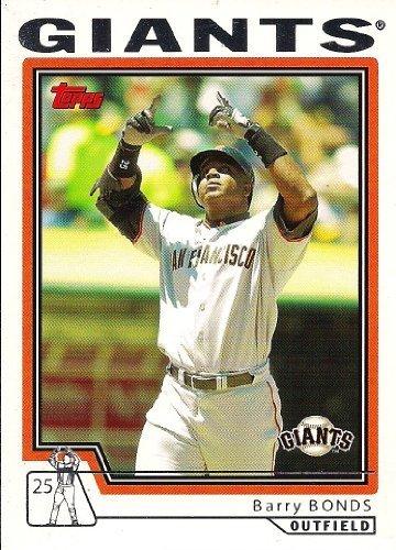 2004 Topps Traded Barry Bonds T221 HTA Giants Baseball