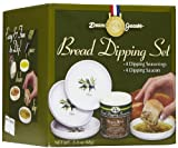 Dean Jacob's 5 Piece Melamine Bread Dipping Set - Regular