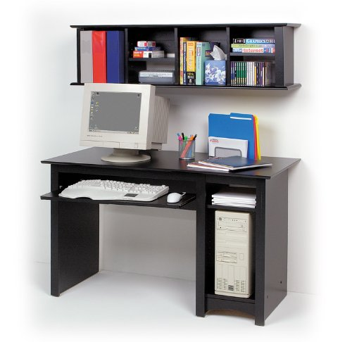 Buy Low Price Comfortable Computer Desk with Wall Hutch (B003CGMB8I)