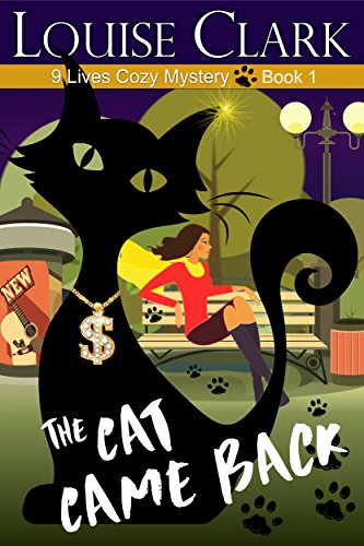 Frank has disappeared and all the answers seemed locked up in his cat in the popular series The Cat Came Back (The 9 Lives Cozy Mystery Series, Book 1)  by Louise Clark