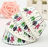 100Pcs Party Cupcake Paper Muffin Cup High Temperature Baking Cup by STCorps7