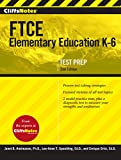 img - for CliffsNotes FTCE Elementary Education K-6, Second Edition book / textbook / text book
