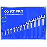 KT Pro Tools A1211MR 12-Point 16-Piece Combination Wrench