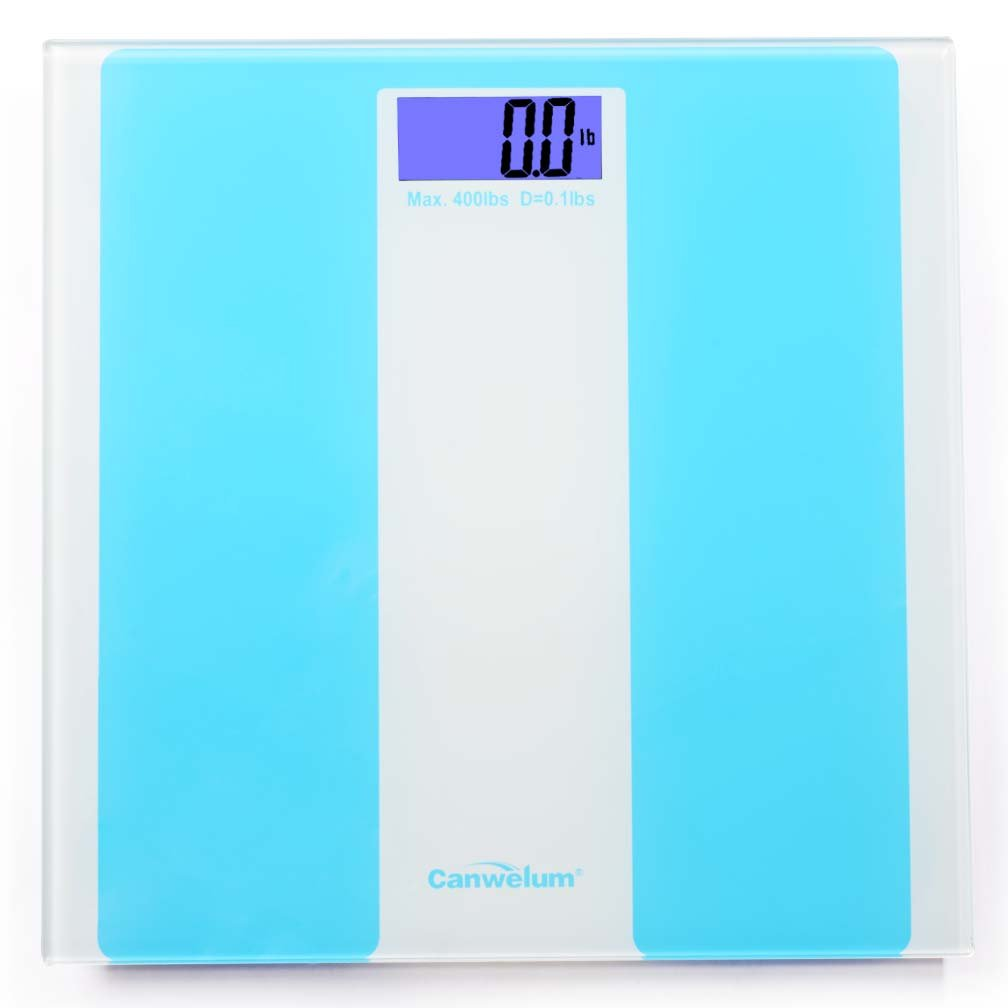 Canwelum Smart Step-on Precision Electronic Bathroom Scale