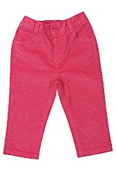 Chirpie Pie by Pantaloons Girl's Regular Fit Pants(205000005616818, Pink, 6 - 9 Months)