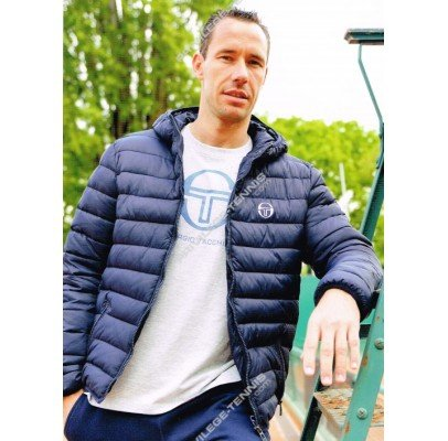 Sergio Tacchini New Holmes Man TCP JKT-Giacca da uomo, colore: blu marine, taglia M