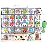 Mirari Flip Flop ABC Blocks Baby Toy