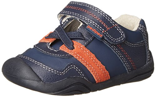 pediped Grip Channing First Walker (Toddler),Navy,21 EU (5.5 M US Toddler)