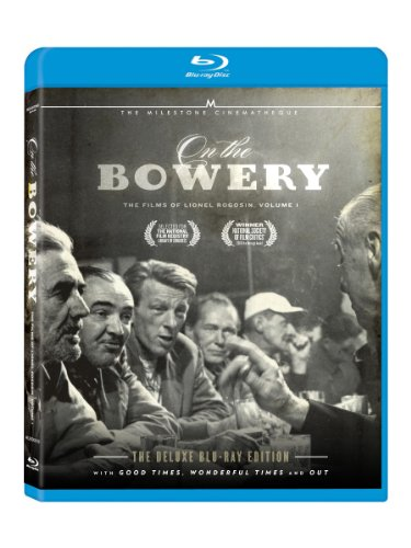 Cover art for  On The Bowery - The Films of Lionel Rogosin, Vol. 1 [Blu-ray]