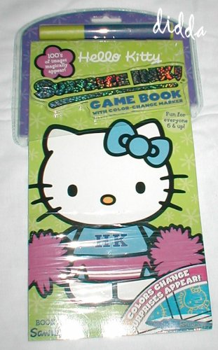 Book 3 Sanrio Hello Kitty Surprize Ink! Game Book with Color-change Marker - Buy Book 3 Sanrio Hello Kitty Surprize Ink! Game Book with Color-change Marker - Purchase Book 3 Sanrio Hello Kitty Surprize Ink! Game Book with Color-change Marker (Hello Kitty, Toys & Games,Categories,Arts & Crafts,Drawing & Sketch Pads)