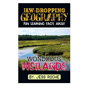 Jaw-Dropping Geography: Fun Learning Facts About Wondrous Wetlands: Illustrated Fun Learning For Kids (Volume 1)