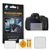6 x Films de protection d'écran pour Canon EOS 650D (Rebel T4i) - Résistant aux éraflures / Display Protective Film