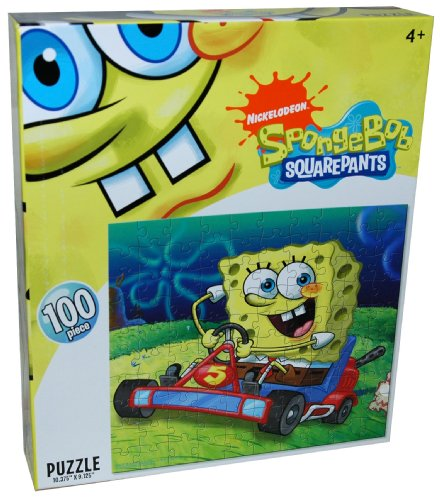 Cheap Nick Nickelodeon SpongeBob Squarepants 100-Piece Puzzle, Riding (B002YIYH2S)