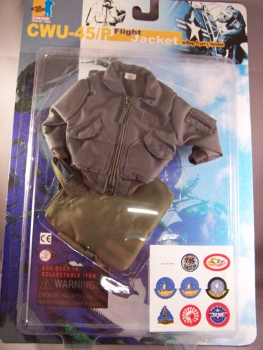 Buy Low Price Dragon Models 1/6 Scale Dragon Models CWU – 45/P Flight Jacket for 12 inches figure (B0013KRS0Q)