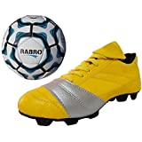 Port Unisex PU Combo Pack Of Soccer Ball And Soccer,Cleats,Football Shoes - B07289HNMZ