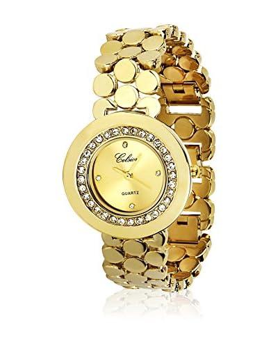 Shiny Cristal Reloj con movimiento Miyota Woman 34 mm