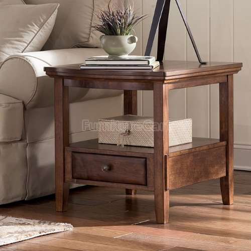 Image of Burkesville Rectangular End Table T556-3 (B009CBJY6Y)