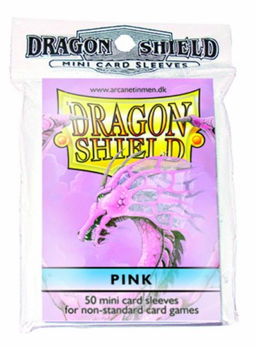 Dragon Shields Mini-Sleeves Pink (50)