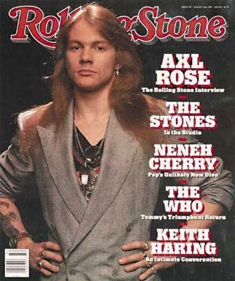 Rolling Stone Magazine # 558 August 10 1989 Axl Rose (Single Back Issue)