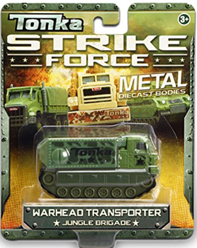 Warhead Transporter Jungle Brigade Tonka Strike Force Metal Diecast Bodies 1:55 Scale