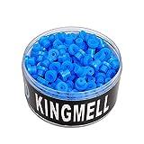 Scheda dettagliata 100pcs [T]Imported Colored Silicone Tattoo Needle Pad Grommets Machine Parts (Blue) WS165-1