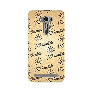 Mobicture I love Chocolate Premium Printed Case For Asus Zenfone Selfie