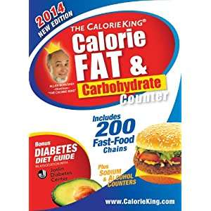 The Calorieking Calorie Fat Amp Carbohydrate Counter 2014