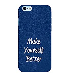 Life Quote 3D Hard Polycarbonate Designer Back Case Cover for Apple iPhone 6S