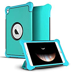 iPad Pro 9.7 Case, CASEFORMERS Armor iPad Pro Shield Cover Flip Case with Stand for iPad Pro 9.7 - BLUE [Heavy Duty] with Smart Flip Cover Screen Protection (Fits 9.7-inch iPad Pro Only)