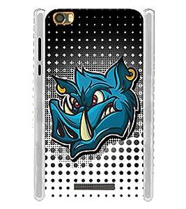 Rhino Graphics Soft Silicon Rubberized Back Case Cover for Lava Iris X8 :: Lava Iris X8 4G