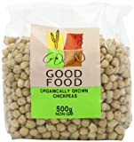 Good Food Pre-packed Organic Chickpeas 8mm (Pack of 5)