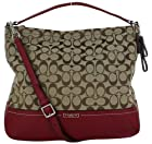 Coach Park F23279 Signature Print Women's Hobo Handbag Purse
