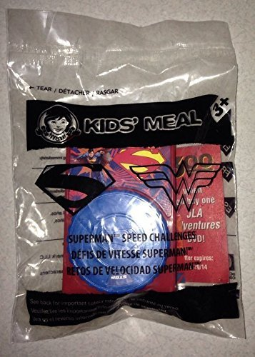 Wendys Kids Meal Superman Speed Challenges