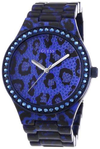 Guess SEDUCTIVE W0015L3 - Reloj analógico de cuarzo para mujer, correa de diversos materiales multicolor