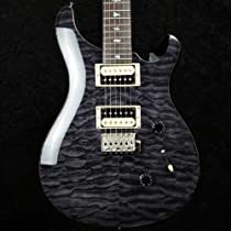 PRS SE Custom 24 Quilt Top Ltd Edition - Grey Black with Gigbag - 2013