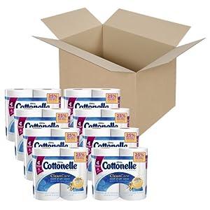 Cottonelle Clean Care Toilet Paper, Double Roll, 32 Count