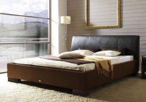 Stilbetten Bett Rattanbett Baia 013 Classic mocca 180×200 cm jetzt bestellen