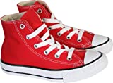 Converse Red Chuck Taylor Girls/Boys All Star High Top Trainers