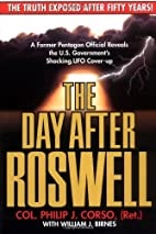 The Day After Roswell 1st (first) by Col.…